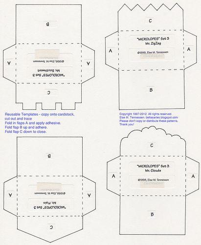 Best Amplop Images On   Envelopes Envelope Templates