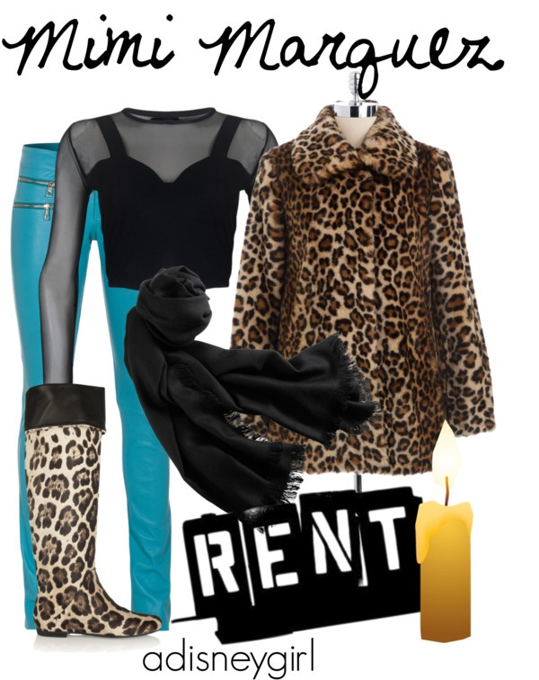 """""""Mimi Marquez (RENT)"""" by adisneygirl ❤ liked on Polyvore"""