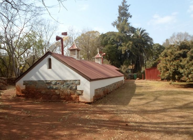 Zwartkoppies Hall, the residence of the Marks family, is set in a park-like garden and is furnished with the original belongings of the Marks family, which is in itself a rare phenomenon.