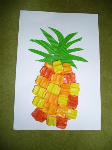 26 best images about pre k lessons on fruit on pinterest for Letter p preschool crafts