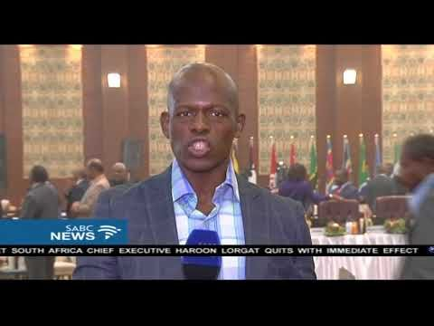 Latest on the Intelligence and Security Conference: Njanji Chauke SABC Digital News