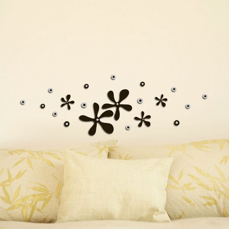 How about bringing a little nature into your room?? #homedecor #wallsticker #floral   #furnishturf