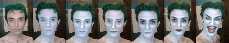 Anthony Misiano's Joker makeup- he looked outstanding at Comic-con, gave me some serious feelings.