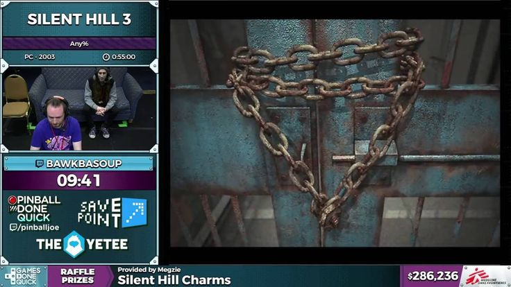 Silent Hill 3 by Bawkbasoup in 50:12 - SGDQ 2016 - Part 75 - Video --> http://www.comics2film.com/silent-hill-3-by-bawkbasoup-in-5012-sgdq-2016-part-75/  #GamesDoneQuick