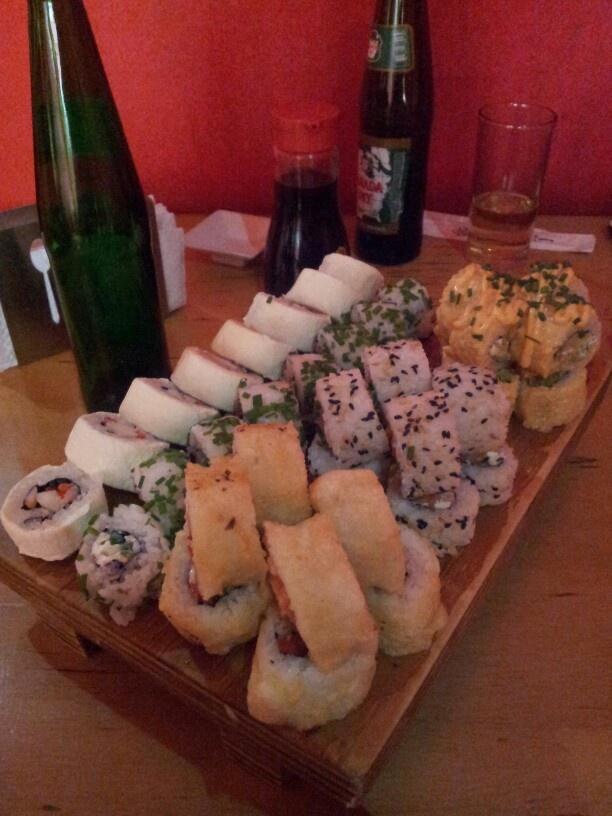 Sushi en Akita