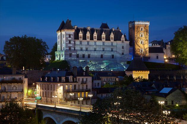 Pau, France - Le Chateau en Lumieres