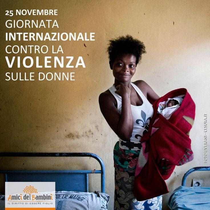 Oggi è la Giornata Internazionale contro la violenza sulle #donne: un solo grido #noallaviolenzasulledonne