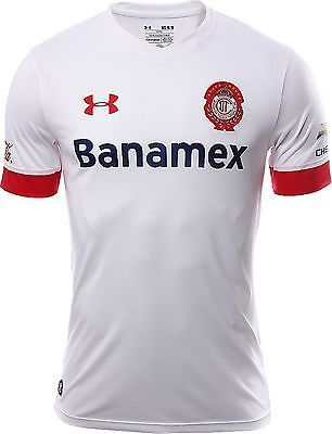 UA UNDER ARMOUR CLUB DEPORTIVO TOLUCA AWAY JERSEY 2015/16