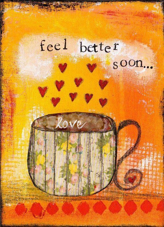 Feel better soon...