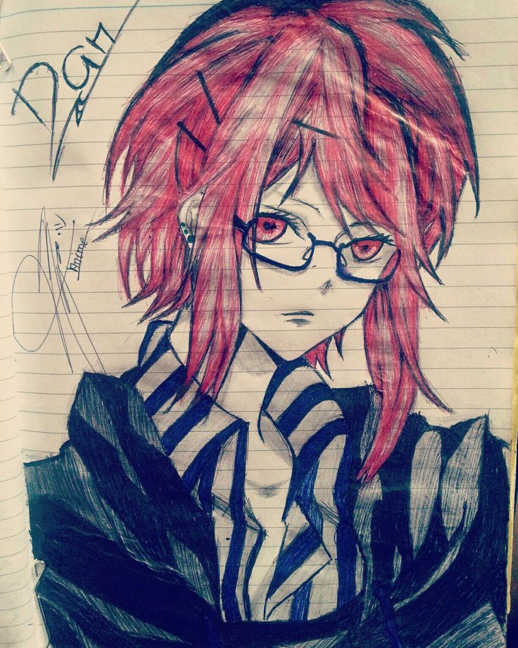 Old Art of mine Sins Anime  Drawing  Sketch