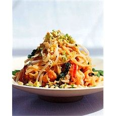 Pad Thai Noodles with Shrimps - Noodle Recipes - Recipes - from Delia Online