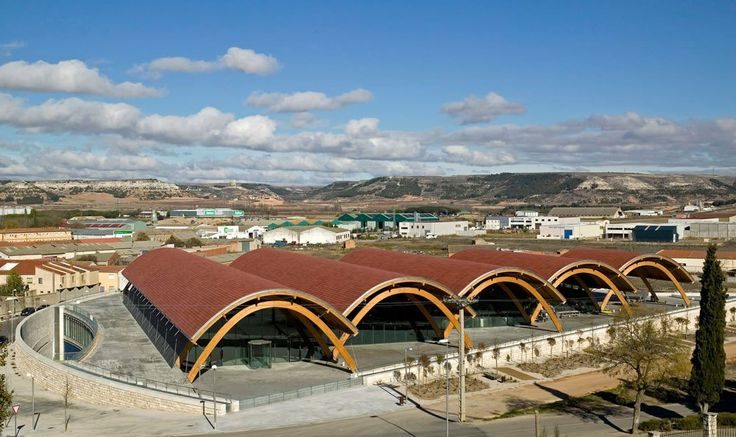 Bodegas Protos: Vaulted Wooden Roof Winery in Peñafiel, Spain by Richard Stirk Harbour + Patners - Archute
