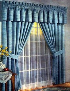 214 best CORTINAS Y CENEFAS images on Pinterest | Curtains, Shades