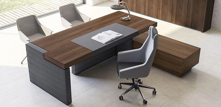 Bureau Moderne Jera par Las Mobili, Orlandini design