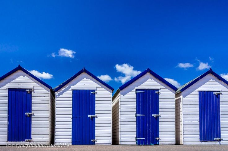 Just some lovely Torbay beach huts, Devon