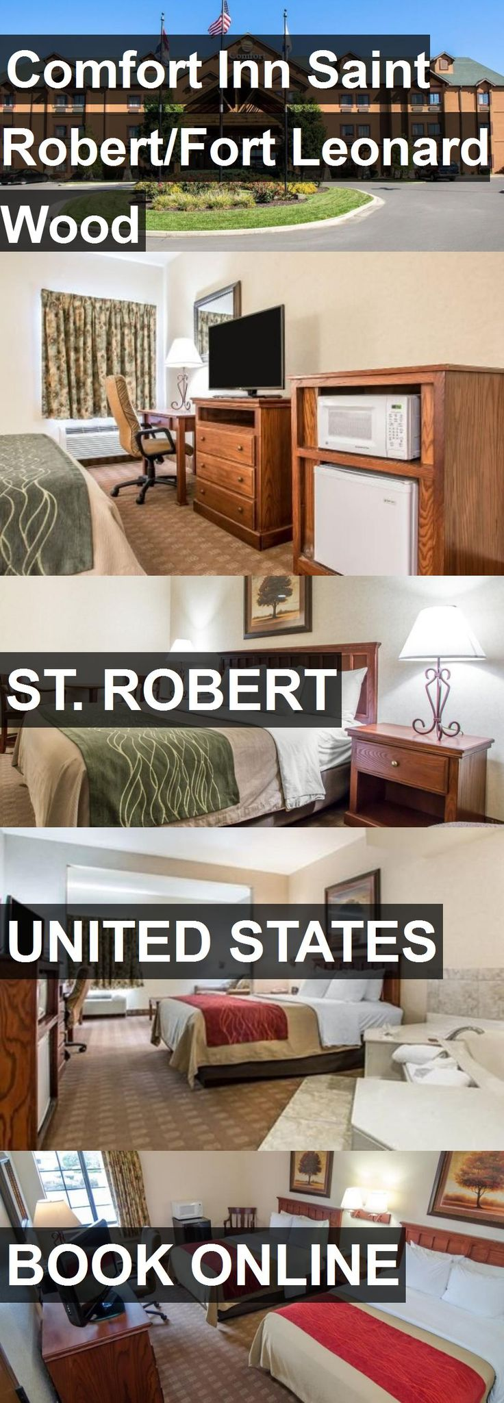 Hotel Comfort Inn Saint Robert/Fort Leonard Wood in St. Robert, United States. For more information, photos, reviews and best prices please follow the link. #UnitedStates #St.Robert #ComfortInnSaintRobert/FortLeonardWood #hotel #travel #vacation