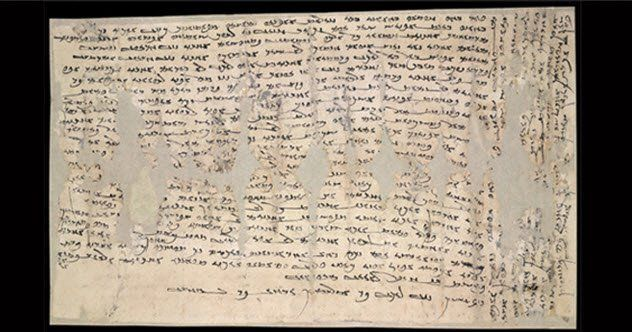 """In AD 313, a Chinese woman named Miwnay was stranded in a town called Dunhuang, living in abject poverty, and desperately trying to get home to her mother.Miwnay may have lost her husband. In a letter to her mother, she wrote that her journey home was delayed by her husband's relative, who disapproved of her trip. The other in-laws followed suit, and every person she came to closed their doors.""""I live wretchedly,"""" Miwnay wrote, """"without clothing, without money."""" She only got by through the…"""