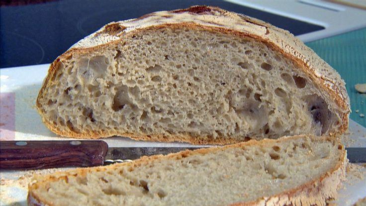 Brød uten å kna