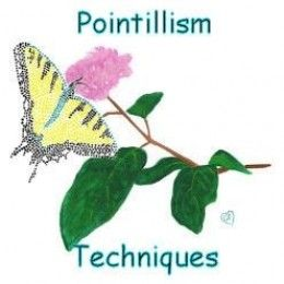 There are various ways to paint with dots. Find out tips and techniques for pointillism, here.