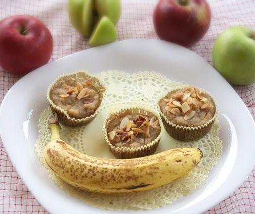 Banános, almás muffin | Klikk a képre a receptért!