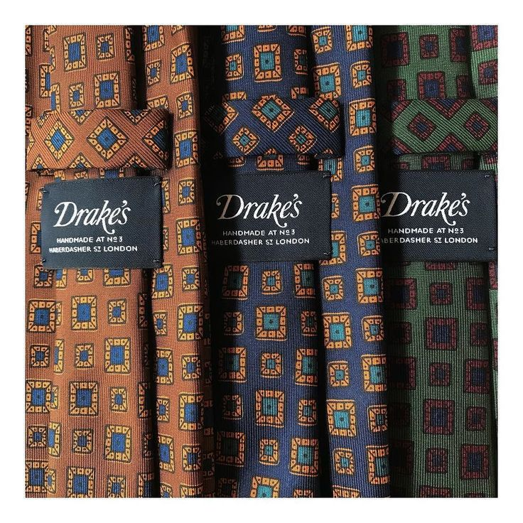 Drakes at NEW TAILOR #madeinengland #english #style