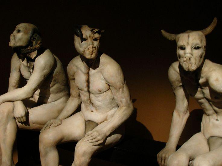 Butcher Boys - Jane Alexander sculpture