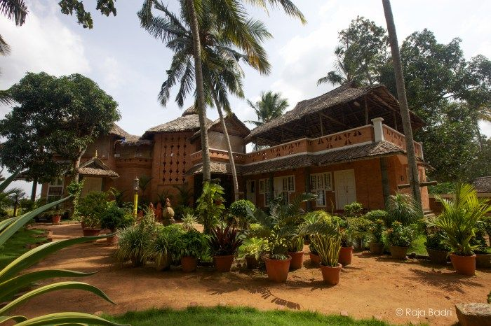 Main building of Ayurveda Healing Ashram