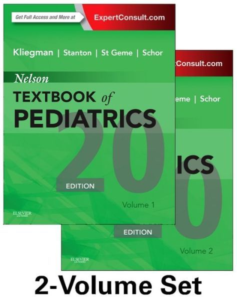 Nelson Textbook of Pediatrics, 2-Volume Set