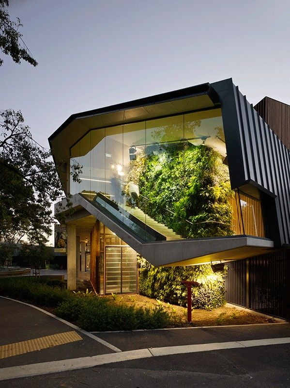 Adelaide Zoo Entrance by Hassell Architects