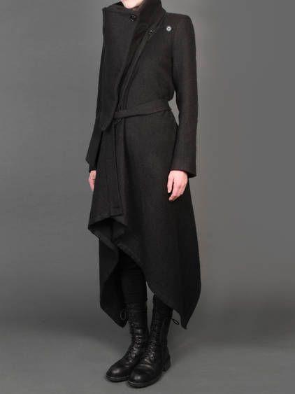 ANN DEMEULEMEESTER COAT 2013 - ANTONIOLI OFFICIAL WEBSITE #minimalist #fashion #style