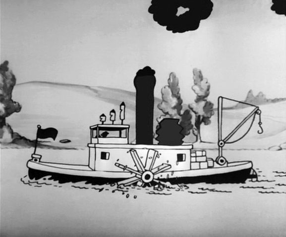 Steamboat Willie Boat