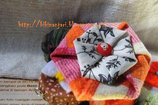 Yuk, Kita Bikin Bikin..: Fabric Origami [6]
