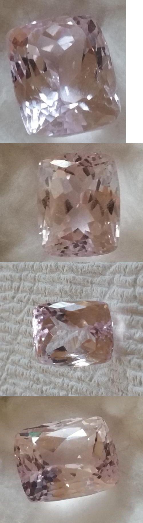 Kunzite 110798: Natural Rectangular Cushion Silver Pink Kunzite 36.68Ct If Brazil Huge BUY IT NOW ONLY: $169.99