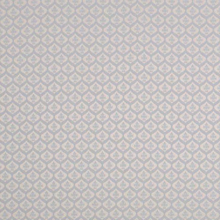 Warwick Fabrics : MALDON, Colour DELFT