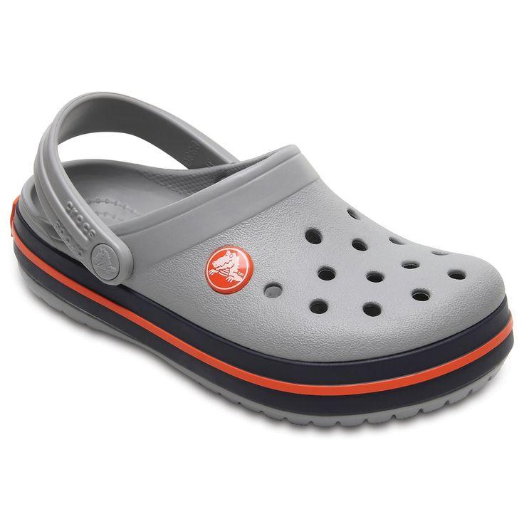 Crocs Crocband Kids' Clogs, Kids Unisex, Size: 9 T, White Oth
