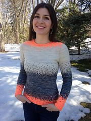 Ravelry: Jenmama's a pixelated pullover
