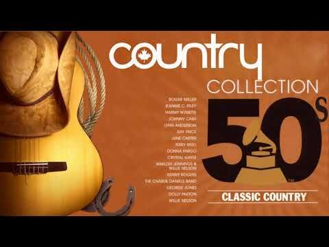 Best Classic Country Songs Of 1950s - Greatest Old Country Music Hits Of 50s - YouTube