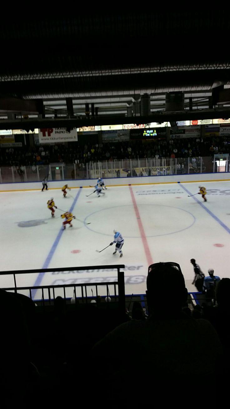 Pre season game Jokerit Helsinki vs Kiekko -Vantaa Finland