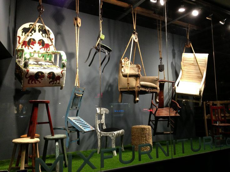 Furniture Window Displays Mix Furniture Window Display