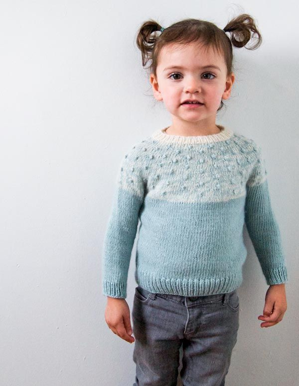 bobble yoke sweater
