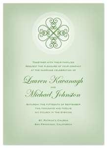 celtic heart invite - Celtic Wedding Invitations