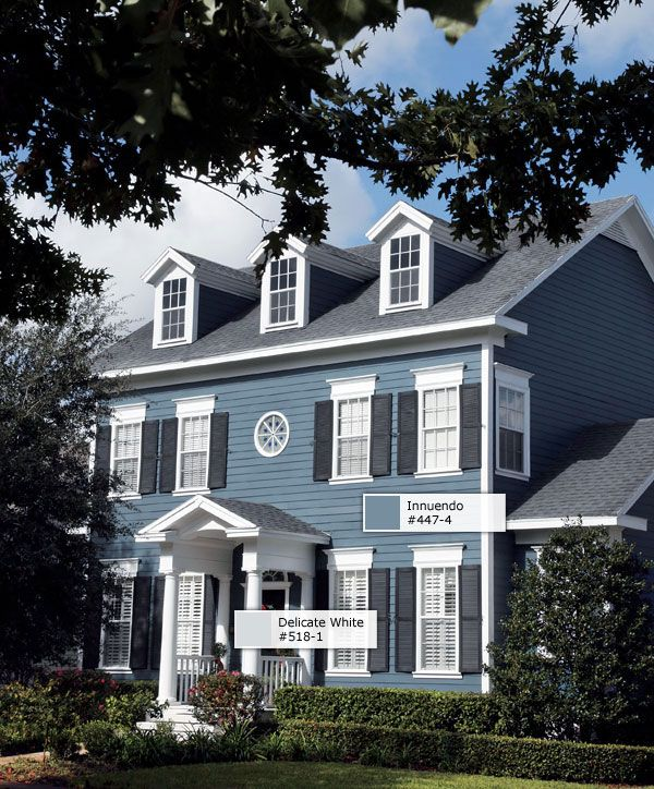 17 best images about exterior paint colors on pinterest for Colonial exterior paint colors