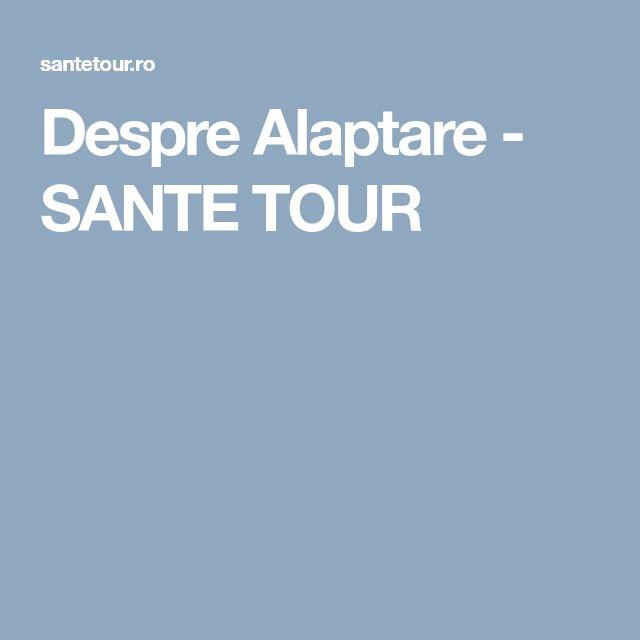 Despre Alaptare - SANTE TOUR