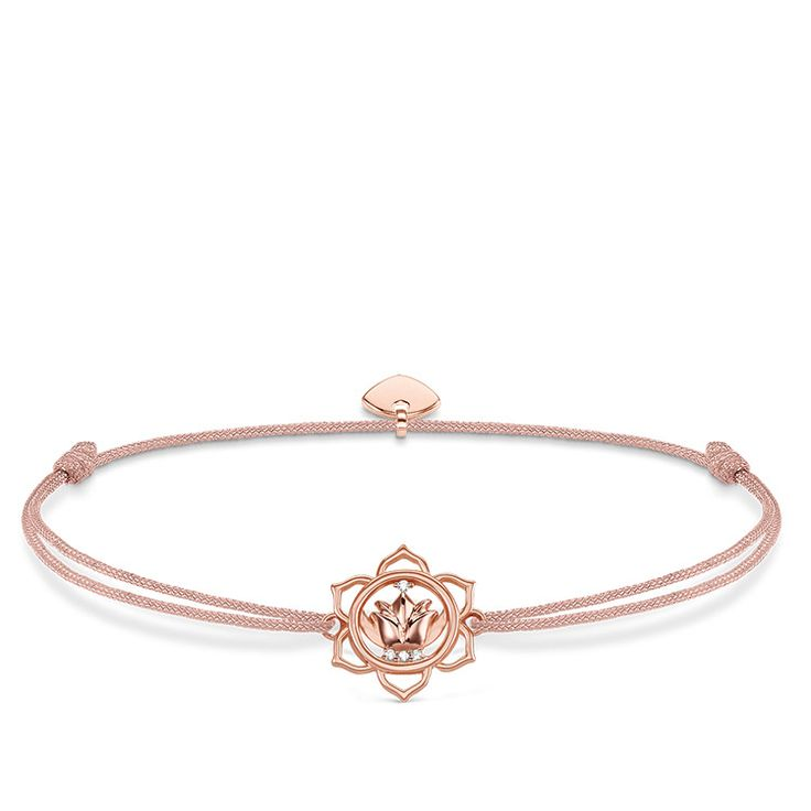 Thomas Sabo Bracelets Thomas Sabo Little Secret Lotus Flower Bracelet | Fallers.com Jewelers