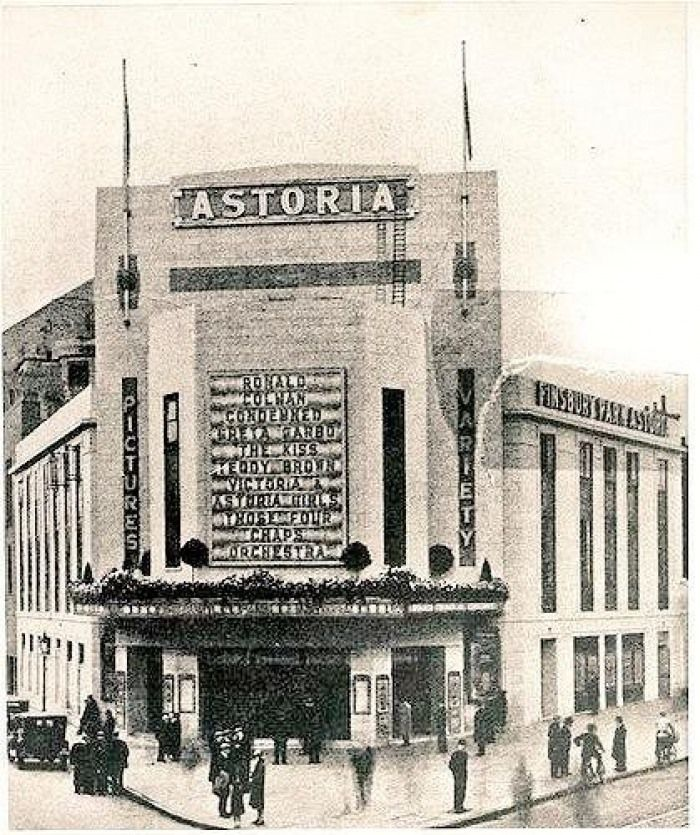 Finsbury Park Astoria, when it opened in 1930
