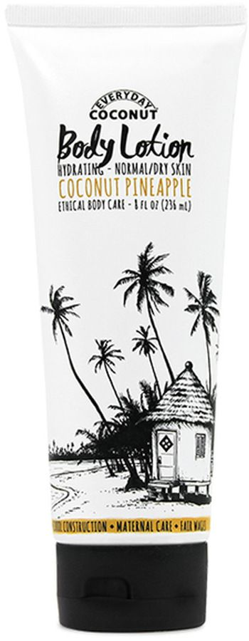 Hydrating Body Lotion - Coconut Pineapple by Alaffia (8oz Lotion)