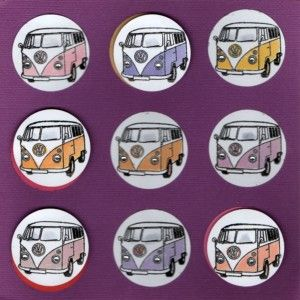 VW Vans Handmade Card