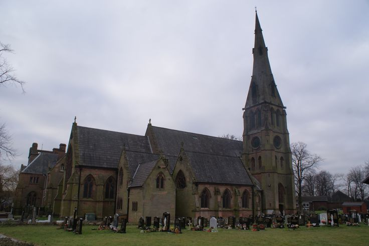 St Barnabas church before the fire in ..... In Erdington High Street. Grade 2 listed building.