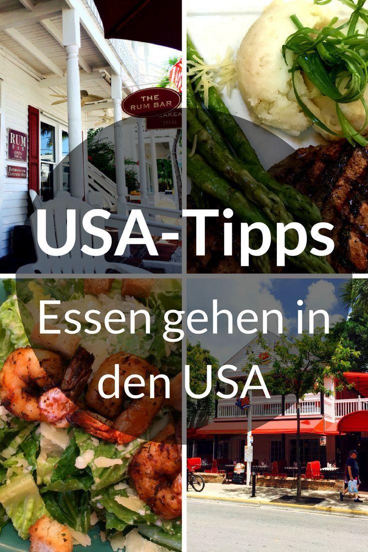 Beim Essen gehen in den USA gibt es einige Unterschiede zu uns in Deutschland. Klar, nichts Gravierendes. Es gibt lediglich ein paar Dinge, die du beachten solltest. Au�erdem erfährst du, wieso es Spa� macht, in den USA Softdrinks zu trinken. Du fliegst a