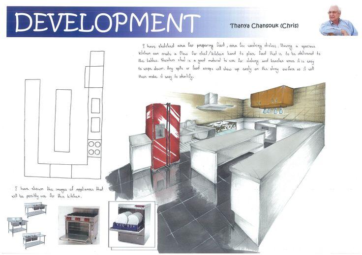 Kitchen Interior Rendering (Development)